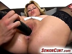 Big tits wife pussy gape close-ups feat. milf Silvy