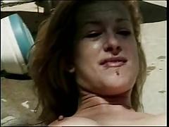 Dalia lesbian scene with blonde girl
