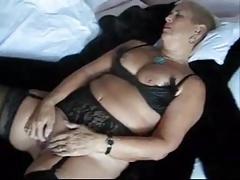 Masturbating grandma