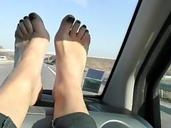 I love filming my feet for you