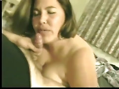 Wife's first time 3sum, blows husband and best friend