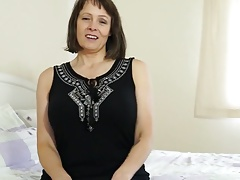 Big breasted mature mom needs a hard sex