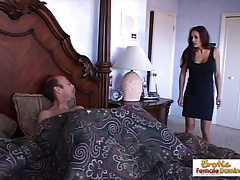 Mad cougar can't say no to a big hard cock