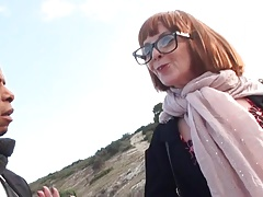 French mature Amanda fucked