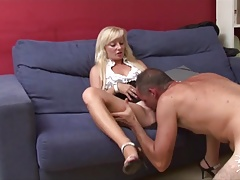 Spanish Mom Anal Boss