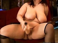 Big dildo for a big woman