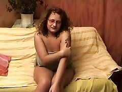 Chubby mature  is showing  her body
