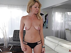 35 Year Old Harley Summers goes All Anal for AllOver30.com
