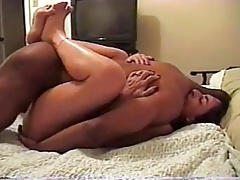 black friend fucks wife very deep and unloads