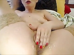 Eros & Music - Camgirl Squirt and Masturbating