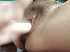 Wonderful Squirting Mature Fucks Her Ass And Pussy