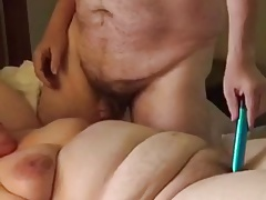 BBW Wife Clair - Plays With Big Tit Hubby