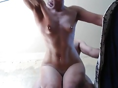 Man fucking Russian bodybuilder mature woman FBB