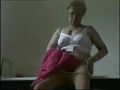 Exhibition of my old whore. Amateur older