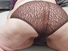 brown panties