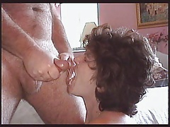 Sandie gets a Cum Load