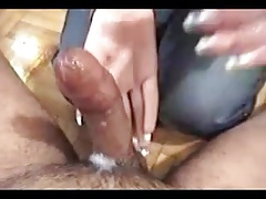 Adorable Babe Does A Nice Handjob