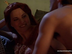 Lucy Lawless nude - Spartacus and Sand S01E10