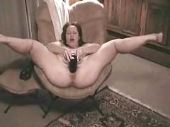 Part 2 huge black dildo