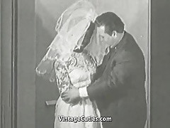 Hot Interracial Newlyweds (1950s Vintage)
