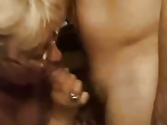 Mature tutor fucks a young guy !!!